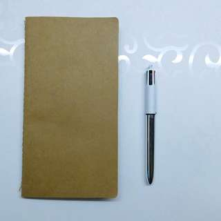 Kraft Blank Notebook