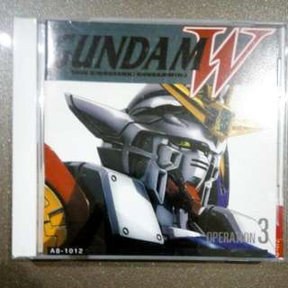 Gundam Wing Operation 3 CD