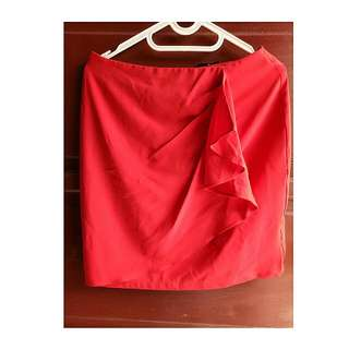 Red Skirt The Executive