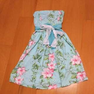 全新  夏日平口洋裝