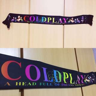 BN Coldplay A Head Full of Dreams Tour Scarf