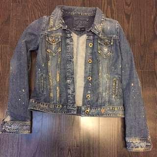 GUESS Jean jacket Size L
