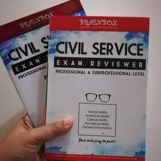 Civil Service Exam Reviewer with Practice Test Kit