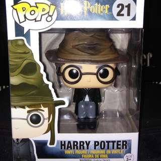 (ON HAND) Harry Potter with Sorting Hat Funko Pop