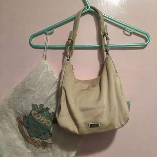 Cobo Handbag 杏色手挽袋