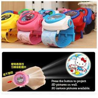 Kids Disney Projector Watch