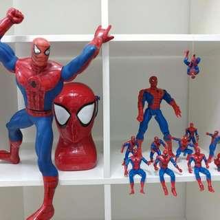 減價一週。Spiderman 珍藏品 來自各地 搜羅
