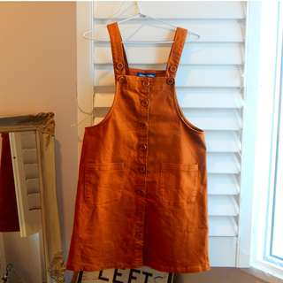 Tan overalls Princess Highway Size 10