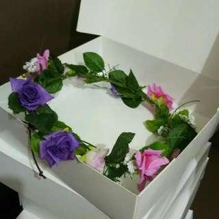 Handmade Flower Headband 001