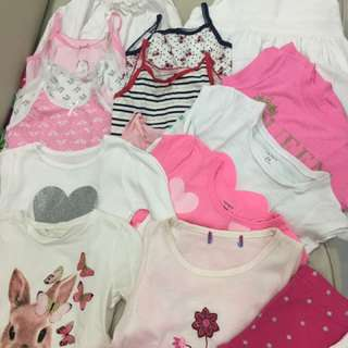 Used / New Dresses, Shirts And Singlets