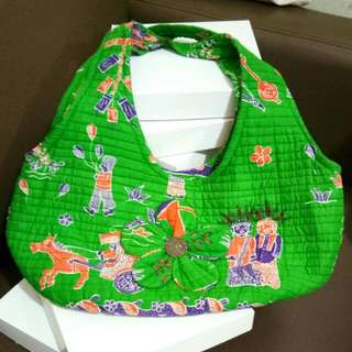 Batik Ondel-Ondel Bag