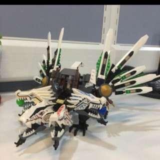 Lego 4 Head Dragon Ninjago