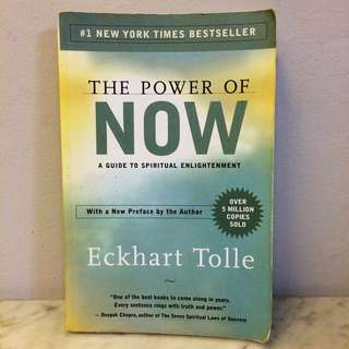 The Power Of Now By Echart Tolle