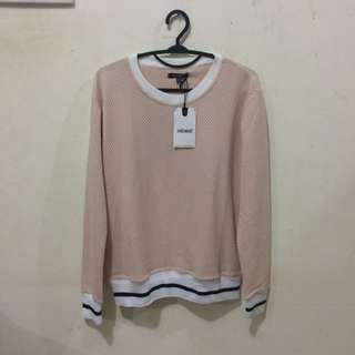 Hardware Peach Sweater (with tag)