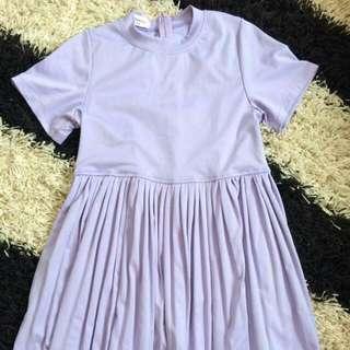 Cutey Purple Dress
