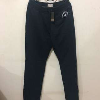 Black Jogger Converse (with tag)
