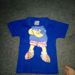 blue shirt for toddlers