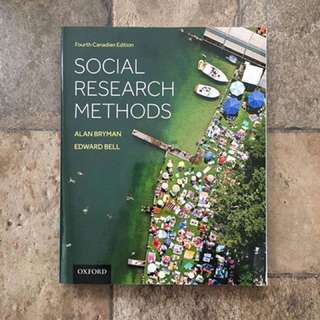 Social Research Methods (Fourth Canadian Edition)