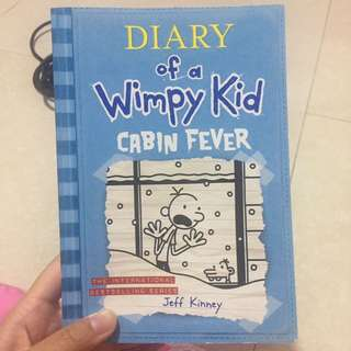 Diary of A Wimpy Kid : Cabin Fever by Jeff Kinney (Inggris)