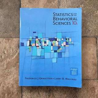 Statistics for the Behavioral Sciences (10th Edition)