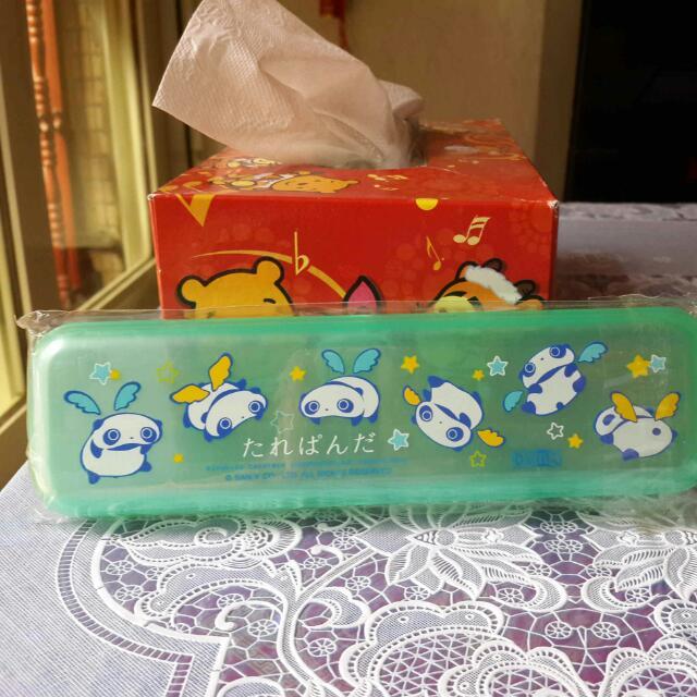 懶懶熊鉛筆盒 #50元文具出清