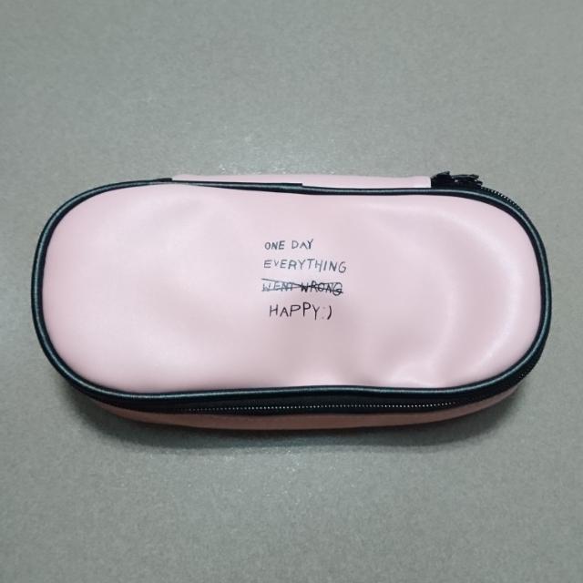 全新✨粉色鉛筆盒/鉛筆袋