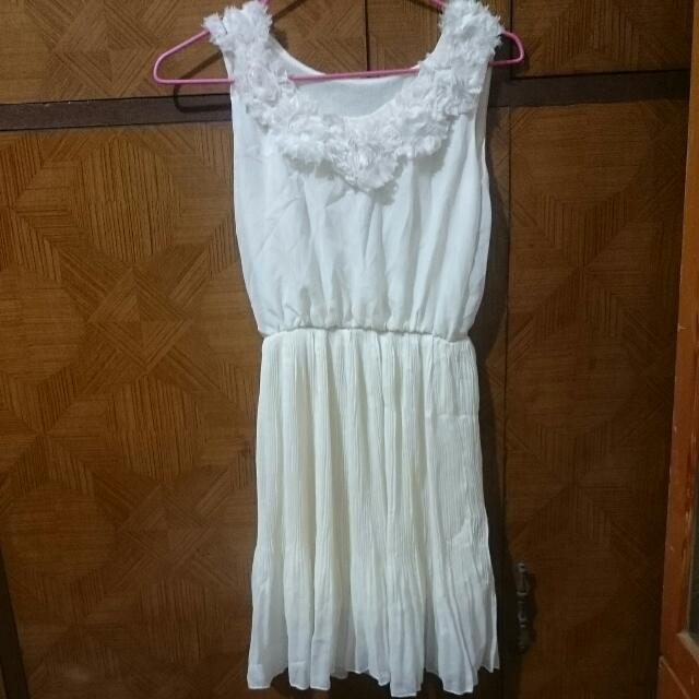 縮腰小洋裝