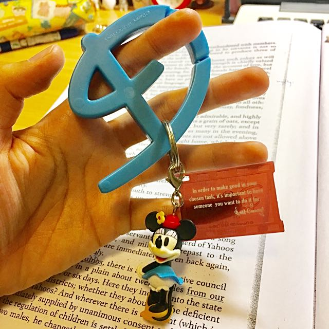 迪士尼 米妮 公仔吊飾