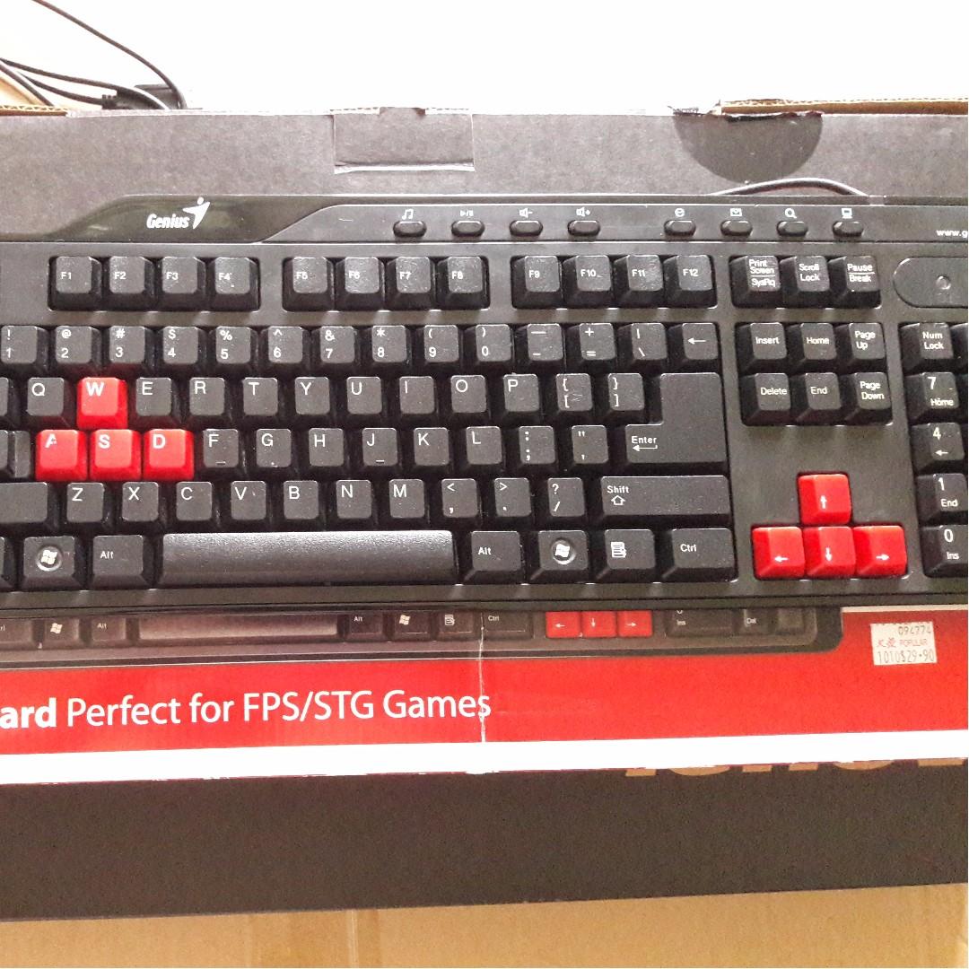 🆒 Genius KB-G235 Gaming Keyboard