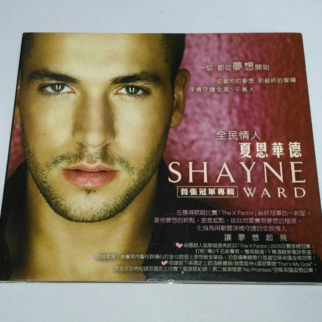 夏恩華德 Shayne Ward 首張冠軍專輯CD