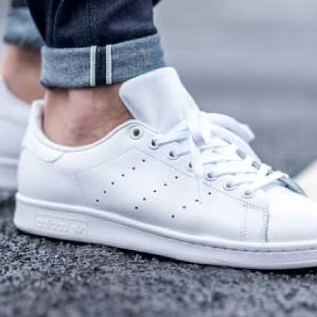 promo code bc74a 19aab Adidas Stan smith All White, Men's Fashion, Footwear on ...