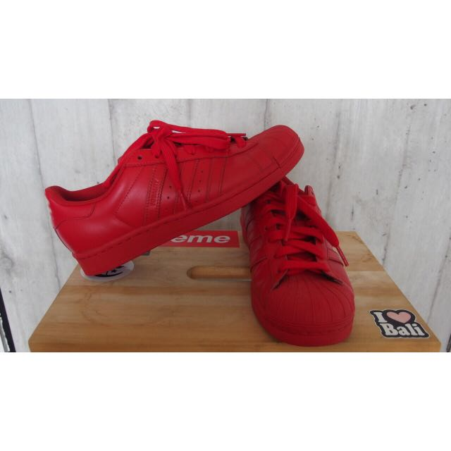 Adidas Superstar Pharrell en Williams Superstar Adidas Red, Moda Hombre, Calzado en d0b4649 - antibiotikaamning.website