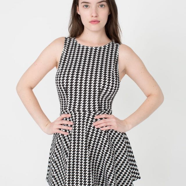 American Apparel Houndstooth Dress