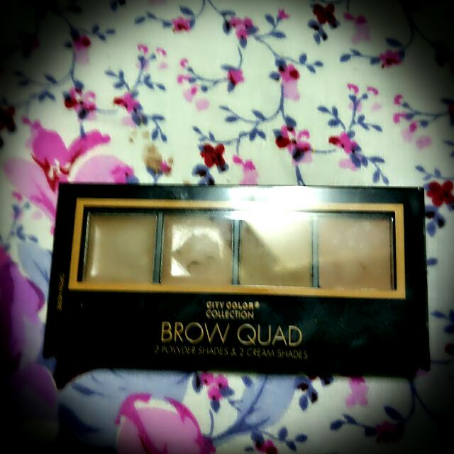 Authentic city color eyebrow kit