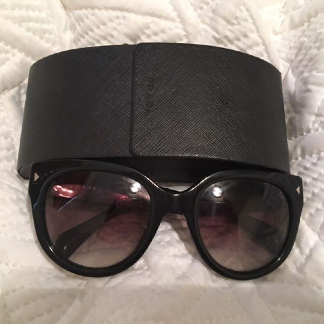 Authentic Prada Cat Eye Sunglasses