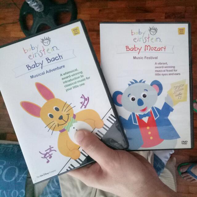 Baby Einstein Music DVDs