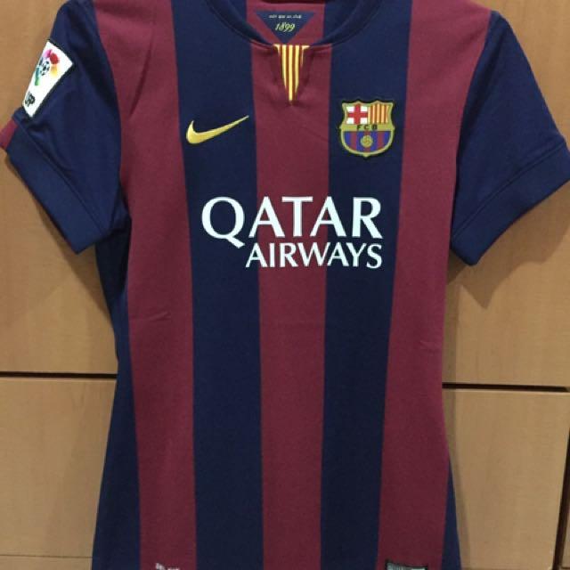 buy popular 4d983 fdcd8 Barcelona Women 14/15 With Neymar Size S, Sports, Sports ...