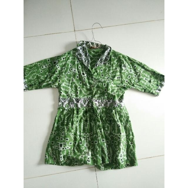 Batik Wanita Uk M Fit L