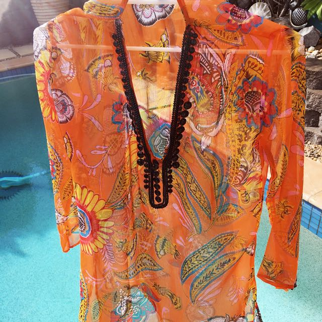 Beach/pool Kaftan Top