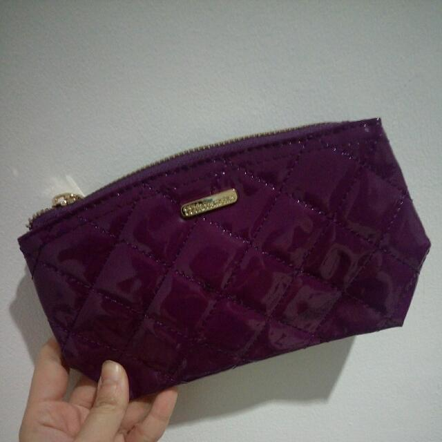 BH Cosmetic Makeup Pouch PURPLE New