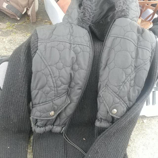 Black Womens Jacket Size Large