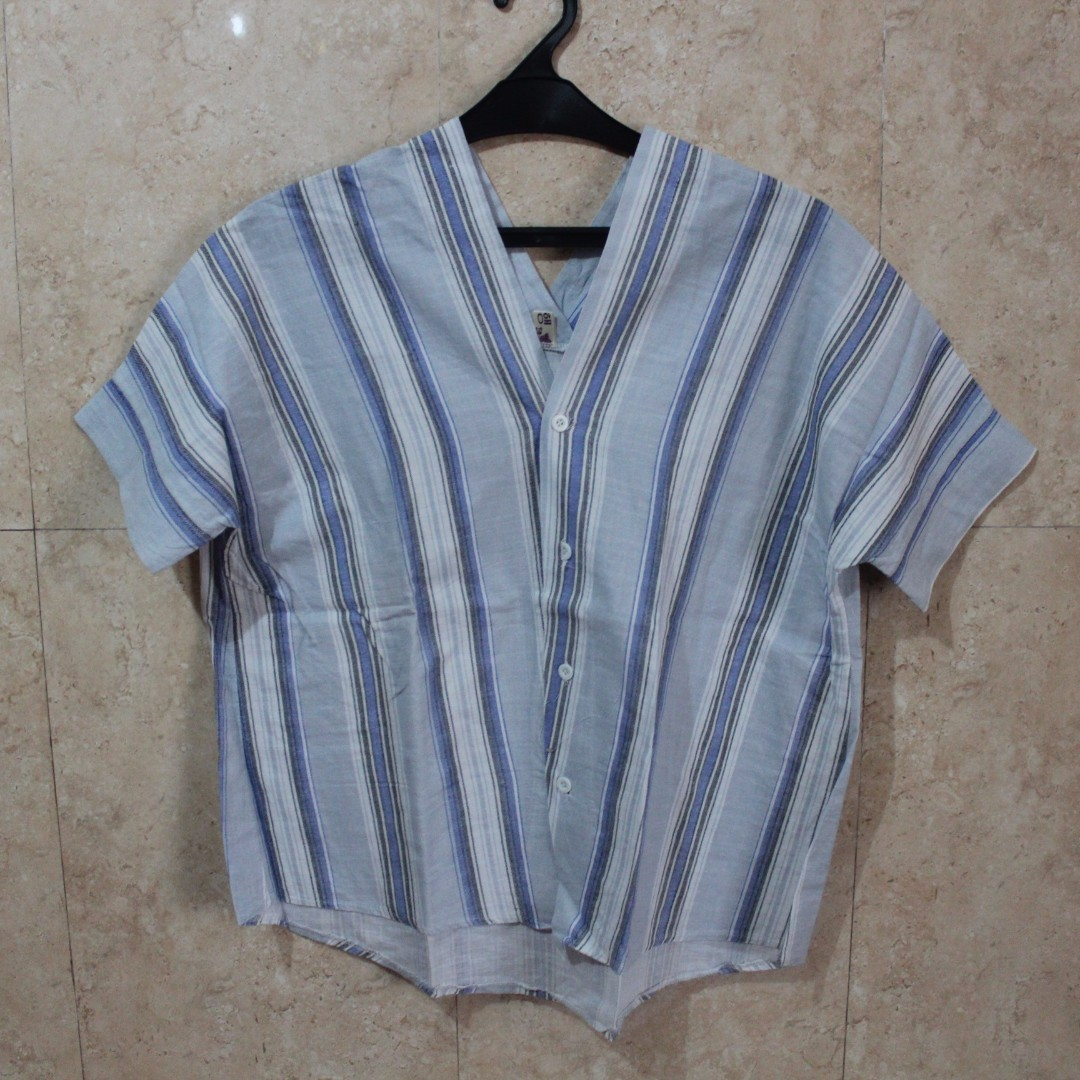 Blue Stripped Bangkok Blouse