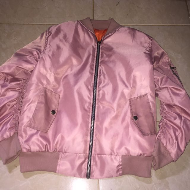 Bomber Jacket Soft Pink