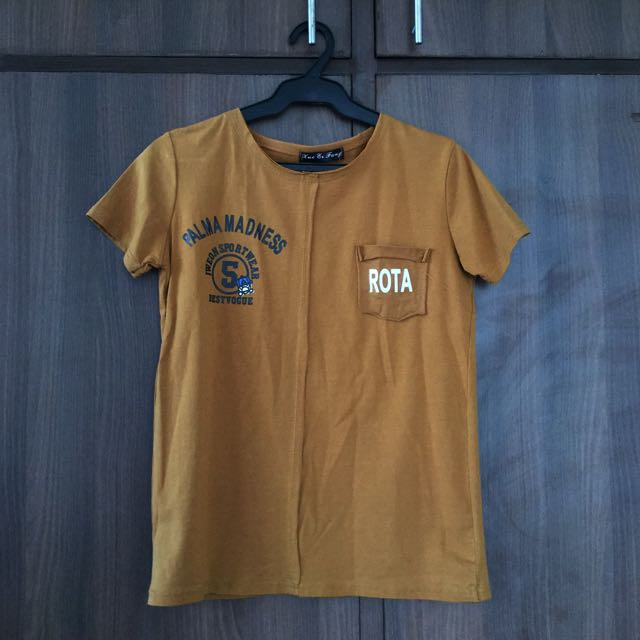 Brown Tee From Landmark