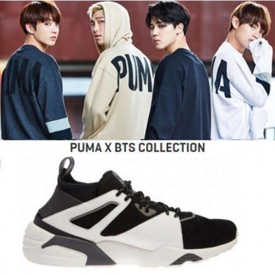 timeless design 84970 31c0f BTS Puma Bog Sock Core KR, Entertainment, K-Wave on Carousell