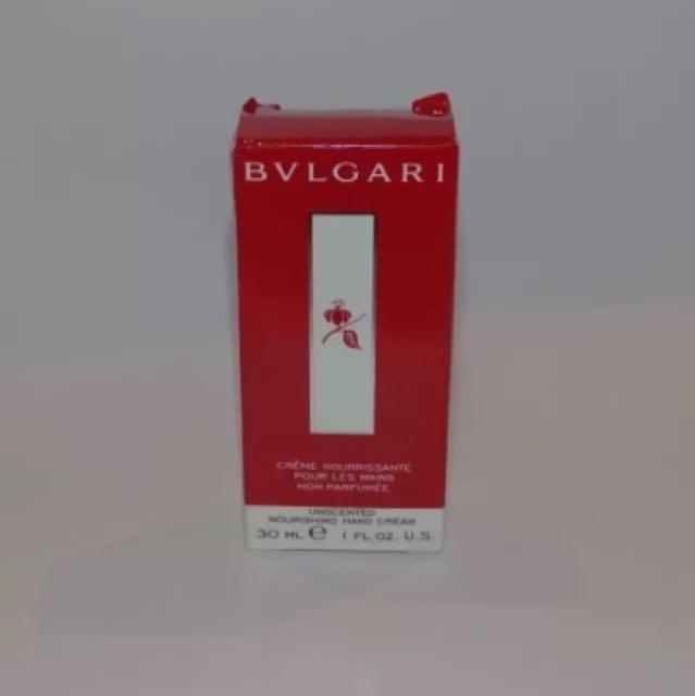 Bvlgari Unscented Nourishing Face Emulsion 30ML