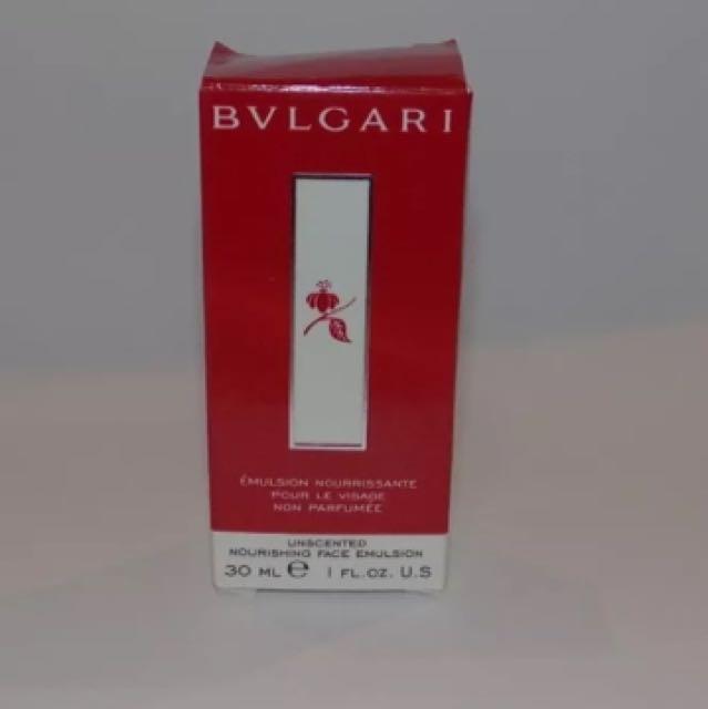 Bvlgari Unscented Nourishing Hand Cream 30ML