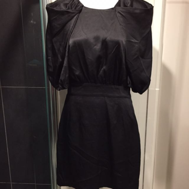 Camilla And Marc North Wind Frock black Satin Size 6
