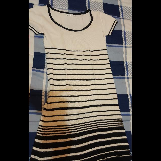 Casual Mini Stripe Dress