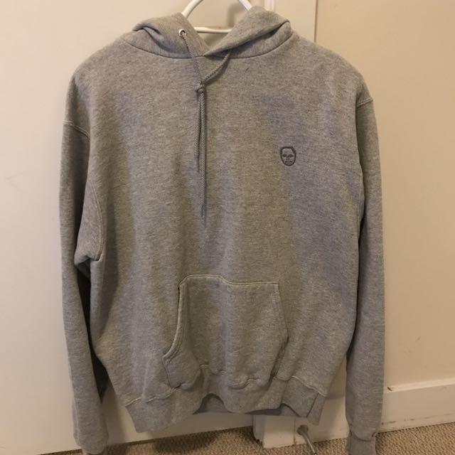 champion hoodie (size M)